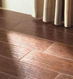 Wood Look Tile on Pinterest   Porcelain Tiles, Tile and Ceramics