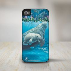 This marvelous phone case. | 19 Incredibly Cute Products For Everyone Who Loves Manatees