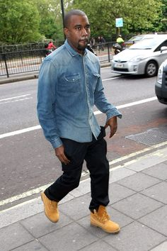 Denim, Black & Timberland boots