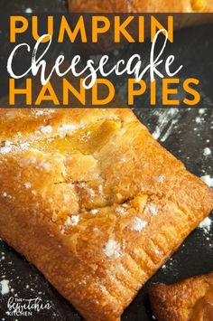 Hypoallergenic Pet Dog Food Items Diet Program Pumpkin Cheesecake Hand Pies - Whether You Call Them Hand Pies Or Turnovers These Pumpkin Pastry Desserts Are Delicious Recipe To Make. They're Easy And Take Less Than 20 Minutes Pumpkin Cheesecake, Cheesecake Recipes, Dessert Recipes, Pie Recipes, Fried Cheesecake, Pumkin Pie, Pumpkin Pumpkin, Recipies, Cheese Pumpkin