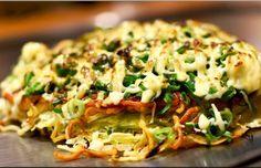 Okonomiyaki vegano