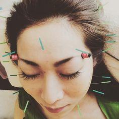 @Regrann from @kayopikari: 美人に美容鍼運が良ければエクステも受けられるかも() 鍼&エクステが同時に受けられるっていいよね #美容鍼灸サロン  #美容鍼  #采花鍼灸院 #saika #acupuncture - via #Regrann #repost