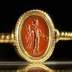 Roman Double Intaglio ring stones, ca 1st Century AD | Sands of Time Ancient Art