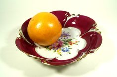 Vintage Fruit BowlVintage Porcelain by DKVINTAGEGALLERY on Etsy