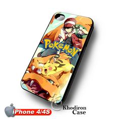 iOffer: Charizard Pikachu and Ash iPhone 4 4S Case for sale on Wanelo #Charizard #Pikachu #iphone4 #iphone4s #case