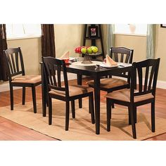 Metropolitan 5piece Dining Set >>> Click image to review more details.Note:It is affiliate link to Amazon.