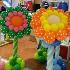 pumpkin theme balloon column - Google Search