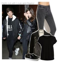 """Night out with Louis and Eleanor"" by perfectharry ❤ liked on Polyvore featuring River Island and VILA"