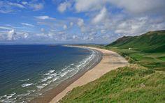 Rhossili Bay Swansea, United Kingdom