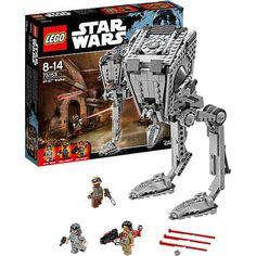 Mit dem AT-ST Walker (LEGO-Nr.: 75153) machst du dich auf die Suche nach Rebellen, um sie wirklungsvoll in die Flucht zu schlagen! <br /> <br /> Mach im All Terrain Scout Transport Jagd auf Baze und den Rebel Trooper, die sich überall verstecken könnten. Öffne die Luke im Dach, setz den AT-ST-Fahrer hinein und bewege die Beine, um ins Action-Getümmel zu schreiten. <br /> <br /> Wenn du sie aufgespürt hast, drehst du das Rad, um den Torso rotieren zu lassen und das Zielen mit den…