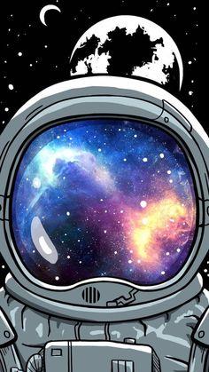 Wallpaper Viajante Espacial by Gocase Space Traveler Wallpaper by Gocase, astronaut, astronaut, plan Phone Screen Wallpaper, Wallpaper Space, Travel Wallpaper, Tumblr Wallpaper, Cool Wallpaper, Wallpaper Backgrounds, Iphone Wallpaper, Cool Galaxy Wallpapers, Wallpapers Android