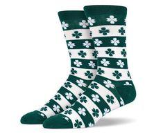 Lucky 4 Leaf Clover Socks