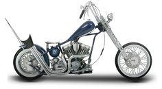 Orange County Choppers - #OCC - Blue Bomber Bike