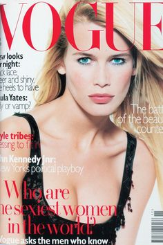 Fashion Magazine Covers - Online Archive for Women (Vogue.com UK) NOVEMBER 1995