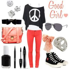 swag outfits for girls . more here http://artonsun.blogspot.com/2015/04/swag-outfits-for-girls-more-here.html