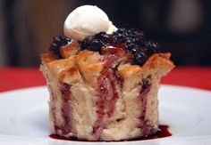 Blueberry Bread Pudding. mmmmm
