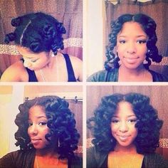 Twist Bantu knot out - These waves are fierce. Love it. http://dominatefacebook.ezblogz.com