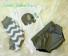 Baby Boys Elephant Outfit, Newborn Coming Home Outfit, Infant Boys Outfit, Boys Elephant Take Home Outfit, Baby Shower Gift
