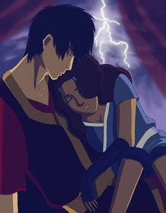 Avatar: The Last Airbender: Zuko and Katara...