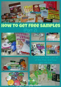 How to get free samples ~ ashleyroseroe.com