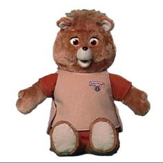 I wanted aTeddy Ruxpin so much but they were too expensive and my parents never got one before I was too old.