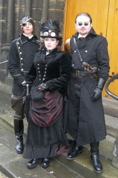 British Steampunks #provestra  you will notice they are covered!!  Well British weather might be the cause....