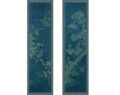 Panneaux Japonais N°1&2 - Fleurs&Oiseaux