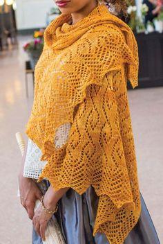 Stole knitting pattern