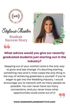 I knew one day I would create something special in the events industry. Wedding planning was always a dream of mine – I love the idea of putting my organisational and event planning skills to work for such a special occasion. Read the post to learn about her success story! Helping Other People, Helping Others, Student Success, Event Company, Starting Your Own Business, Industrial Wedding, Event Planning, Wedding Planner, How To Become