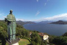 Arona-Novara-Statua colosso di San Carlo Borromeo visitabile all'interno