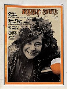 Janis Joplin covers Rolling Stone
