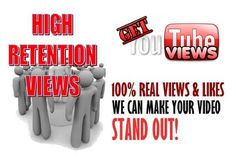 http://getyoutubevie.ws - Get real YouTube views at an affordable prices using only legit and safe methods.