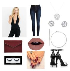 """""""Untitled #75"""" by chrissymyrick on Polyvore featuring Express, Rebecca Minkoff, Anne Sisteron, Yves Saint Laurent and Inglot"""