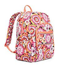 Campus Backpack in Ziggy Zinnia | Vera Bradley