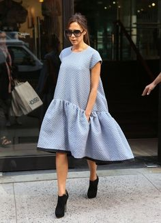 Victoria Beckham Leaves Her NYC Hotel