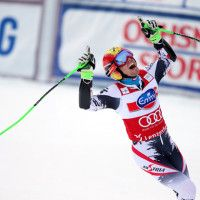 Just 25 years old, Hirscher seemingly will face good odds to become the first male ever to win four consecutive overall World Cup titles nex. Ski Gear, Snow Skiing, 25 Years Old, World Cup, Austria, Face, Sports, Hs Sports, World Cup Fixtures