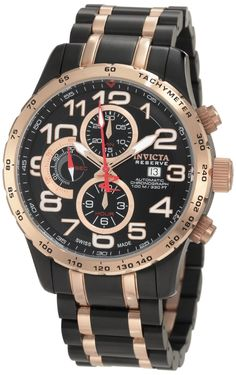 8c1eef8d0 Invicta Men's 0593 Reserve Automatic Chronograph Two Tone Stainless Steel  Watch. Bringing you the best
