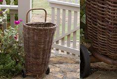 Image Result For Wicker Shopping Basket On Wheels Uk