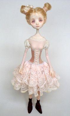 Dorothy - original doll by Ana Salvador