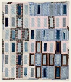 Waste not, want not:  Quilts from reclaimed clothing
