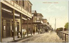 La calle del frente, Colón