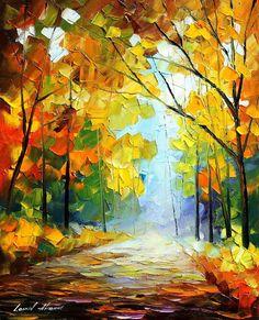 - Original Oil painting by Leonid Afremov | by Leonid Afremov Art Gallery