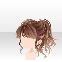 Trendy hair bangs types ideas – My CMS Hairstyles With Bangs, Trendy Hairstyles, Girl Hairstyles, Pelo Anime, Chibi Hair, Manga Hair, Hair Sketch, Dibujos Cute, Hair Reference
