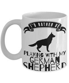 German Shepherd Gifts for dog owners Black German Shepherd Puppies, Long Haired German Shepherd, Gifts For Dog Owners, Dog Gifts, Puppies For Sale, Dog Lovers, Mugs, Funny, Dog Presents