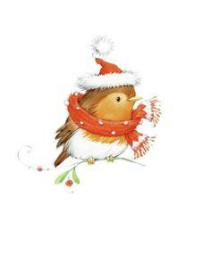 Leading Illustration & Publishing Agency based in London, New York & Marbella. Christmas Bird, Christmas Drawing, Christmas Makes, Christmas Clipart, Christmas Paintings, Christmas Animals, Christmas Printables, All Things Christmas, Winter Christmas