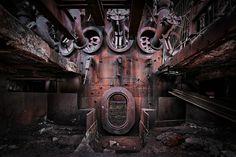 Blast furnace tap hole (by kiekmal)