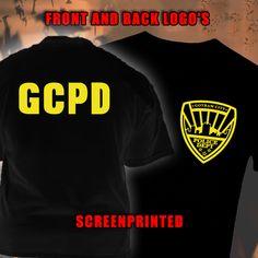 #Batman #ArkhamKnight Inspired #T-Shirt #GothamCity #PoliceDepartment Two Sided Rare Screenprinted http://www.kingbossdesign.com/shop/?product=batman-arkham-knight-inspired-t-shirt-gotham-city-police-department-two-sided-rare-screenprinted