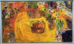 Yellow still-life Rafael Wardi Be Still, Still Life, Paintings I Love, Finland, New Art, Tablescapes, Photo Art, Modern Art, Yellow