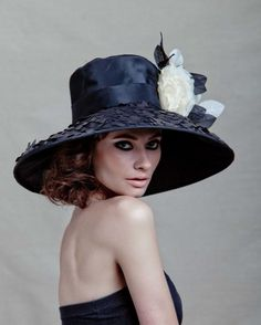 Couture Derby hat. $195.00, via Etsy.