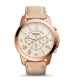 Fossil Q Grant Chronograph Smart Watch #Dillards